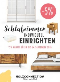 E-Furniture Europe - Holzconnection Schlafzimmer individuell einrichten September 2016 KW37