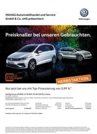 Volkswagen Preisknaller bei unseren Gebrauchten September 2016 KW37 2