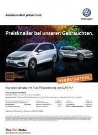 Volkswagen Preisknaller bei unseren Gebrauchten September 2016 KW37 5