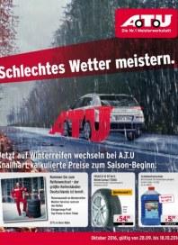A.T.U Auto Teile Unger Schlechtes Wetter meistern September 2016 KW39