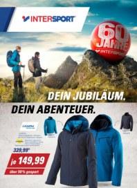 Intersport 60 Jahre INTERSPORT - Dein Jubiläum. Dein Abenteuer September 2016 KW39