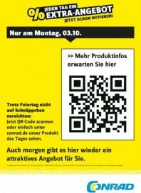 Conrad Electronic Jeden Tag ein Extra-Angebot Oktober 2016 KW40 1
