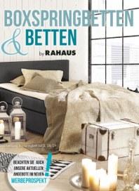 Rahaus Boxspringbetten & Betten by Rahaus Oktober 2016 KW41