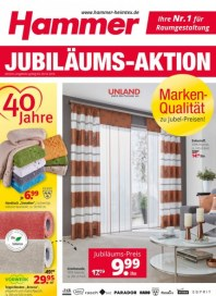 Hammer Jubiläums - Aktion Oktober 2016 KW41