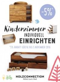 Holzconnection Kinderzimmer individuell einrichten Oktober 2016 KW43