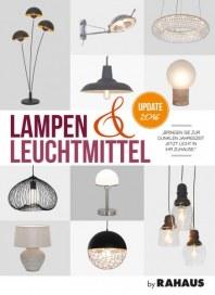 Rahaus Lampen & Leuchtmittel Oktober 2016 KW44