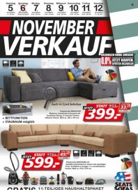 Seats and Sofas Novemberverkauf November 2016 KW44