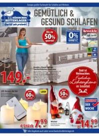 Dänisches Bettenlager Gemütlich und gesund schalfen November 2016 KW44