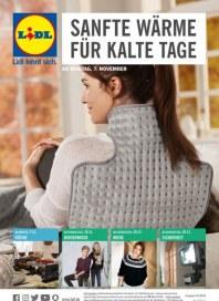Lidl SANFTE WÄRME FÜR KALTE TAGE November 2016 KW45