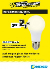Conrad Electronic Jeden Tag ein Extra-Angebot November 2016 KW45 1