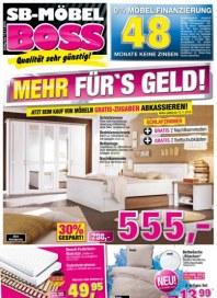SB Möbel Boss Mehr fürs Geld November 2016 KW45