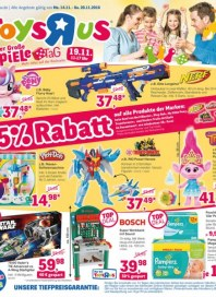 Toys''R''Us 25% Rabatt November 2016 KW46