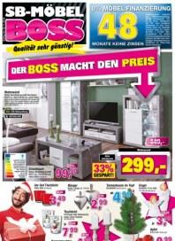SB Möbel Boss Der Boss macht den Preis November 2016 KW46