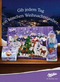 Milka Weihnachtszauber Gib jedem Tag ein bisschen Weihnachtszauber November 2016 KW47