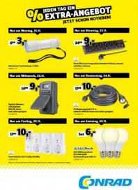 Conrad Electronic Jeden Tag ein Extra-Angebot November 2016 KW47 6