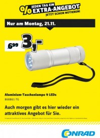 Conrad Electronic Jeden Tag ein Extra-Angebot November 2016 KW47 5
