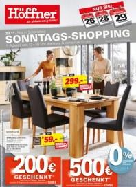 Höffner Höffner - Wo Wohnen wenig kostet November 2016 KW47