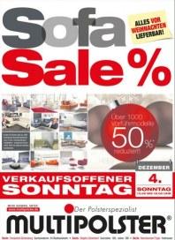 Multipolster Sofa Sale Dezember 2016 KW48