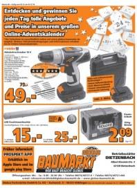 Globus-Baumarkt Aktuelle Angebote Dezember 2016 KW49
