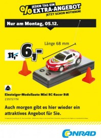 Conrad Electronic Jeden Tag ein Extra-Angebot Dezember 2016 KW49