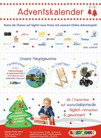 BabyOne Adventskalender Dezember 2016 KW49 1