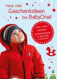 BabyOne Viele tolle Geschenkideen bei BabyOne Dezember 2016 KW50