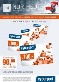 Cyberport Cybersale Adventskalender Dezember 2016 KW50 13