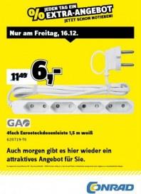 Conrad Electronic Jeden Tag ein Extra-Angebot Dezember 2016 KW50 9