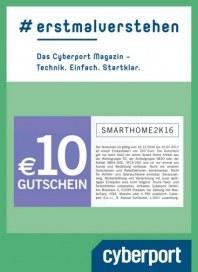 Cyberport 10€ Gutschein Dezember 2016 KW50