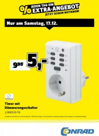 Conrad Electronic Jeden Tag ein Extra-Angebot Dezember 2016 KW50 10