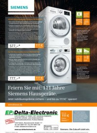 EP: Delta-Electronic 111 Jahre Siemens Hausgeräte Dezember 2016 KW51