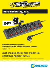 Conrad Electronic Jeden Tag ein Extra-Angebot Dezember 2016 KW51 12
