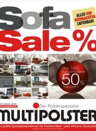 Multipolster Sofa Sale % Dezember 2016 KW51