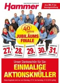 Hammer Jubiläums-Finale Dezember 2016 KW51