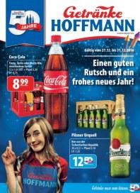 Getränke Hoffmann Einen guten Rutsch und ein frohes neues Jahr Dezember 2016 KW52