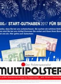 Multipolster 50€ Startguthaben Januar 2016 KW53