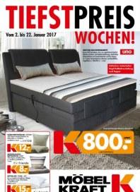 Möbel Kraft Tiefstpreiswochen Januar 2017 KW01