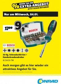 Conrad Electronic Jeden Tag ein Extra-Angebot Januar 2017 KW01 1