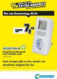 Conrad Electronic Jeden Tag ein Extra-Angebot Januar 2017 KW01 2