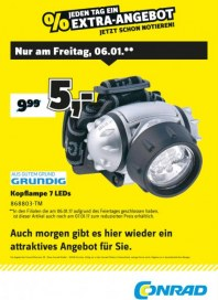 Conrad Electronic Jeden Tag ein Extra-Angebot Januar 2017 KW01 3