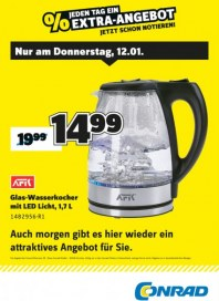 Conrad Electronic Jeden Tag ein Extra-Angebot Januar 2017 KW02 5