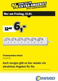 Conrad Electronic Jeden Tag ein Extra-Angebot Januar 2017 KW02 6