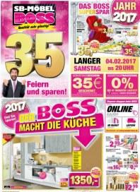 SB Möbel Boss Feiern und sparen Februar 2017 KW05