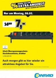 Conrad Electronic Jeden Tag ein Extra-Angebot Februar 2017 KW06
