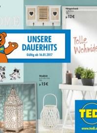 Tedi GmbH & Co. KG Unsere Dauerhits Januar 2017 KW03 4