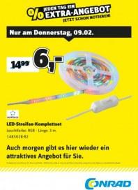 Conrad Electronic Jeden Tag ein Extra-Angebot Februar 2017 KW06 1