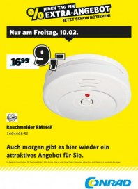 Conrad Electronic Jeden Tag ein Extra-Angebot Februar 2017 KW06 2