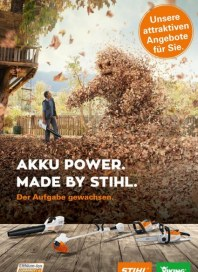 Stihl AKKU POWER. MADE BY STIHL. Der Aufgabe gewachsen September 2017 KW35