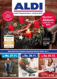 Aldi Nord Jeden Tag besonders - einfach ALDI November 2017 KW48 3