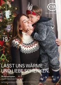 C&A Lasst uns Wärme und Liebe schenken Dezember 2017 KW51